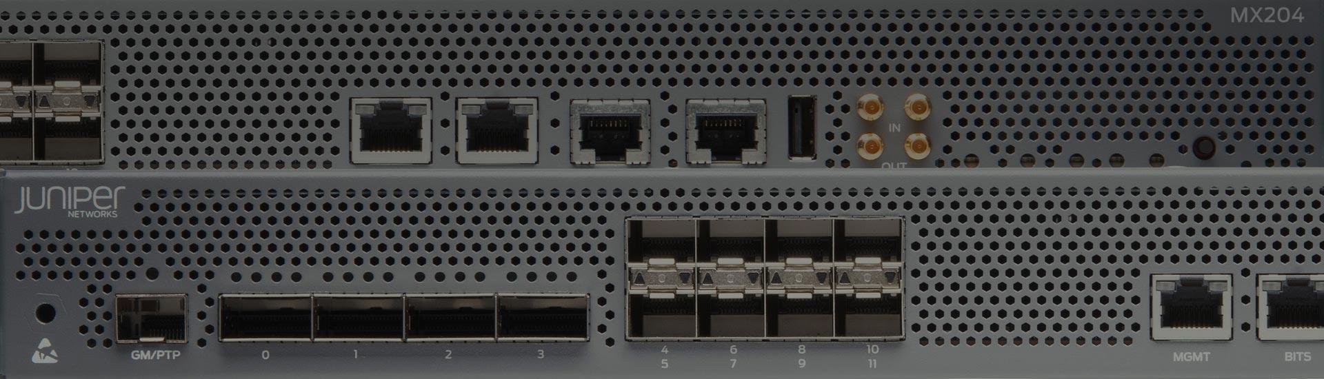 MX204 Universal Routing Platform – Juniper Networks
