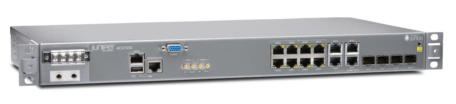 ACX1100 Universal Metro Router - Juniper Networks