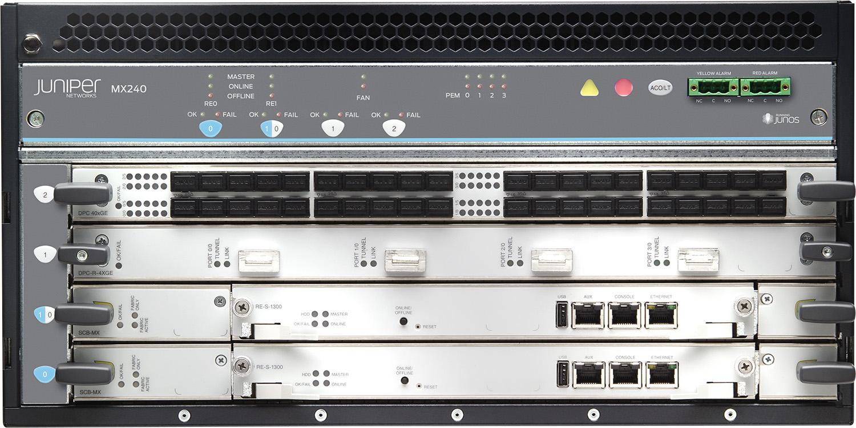 MX240 5G Universal Routing Platform | Juniper Networks