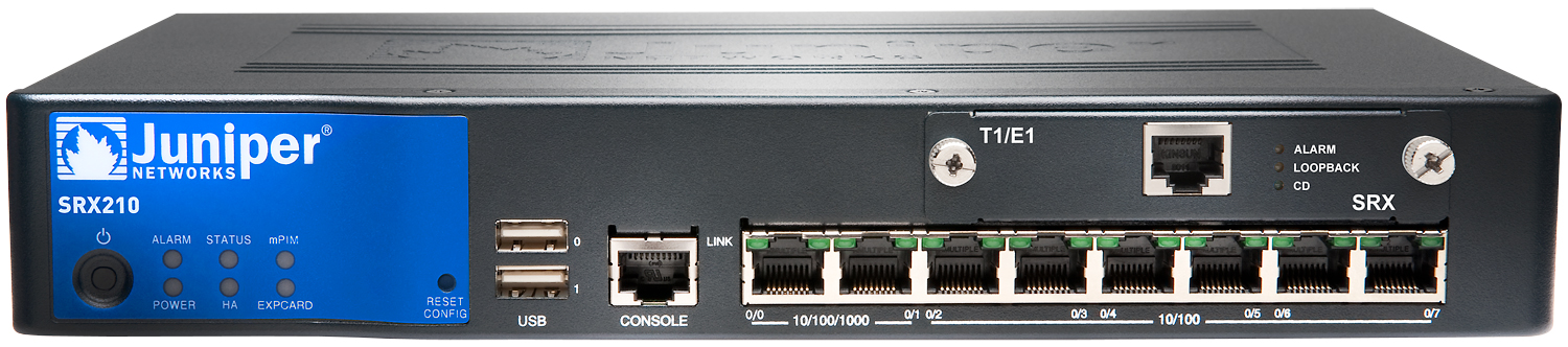 Srx210 Services Gateway Juniper Networks