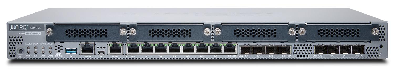 Juniper Networks SRX210 Services Gateway security appliance