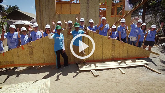 Juniper Networks und Habitat for Humanity