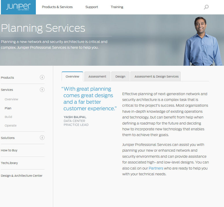 Services: Planning Your Modern Data Center