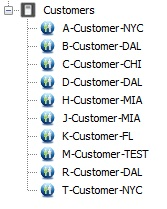 Customers Branch Without Auto-categorization