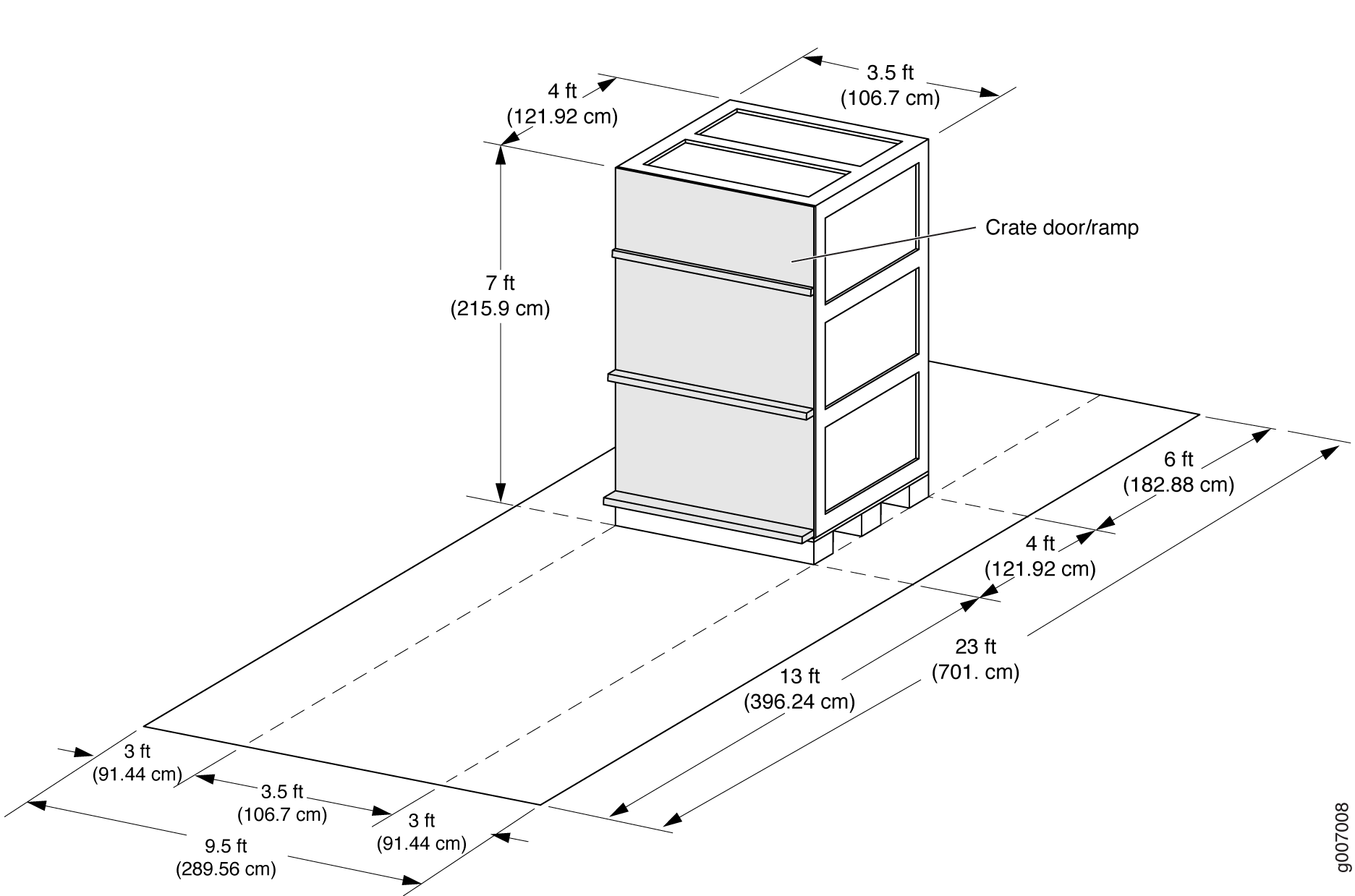 MX2020 Shipping Crate Dimensions (smaller)