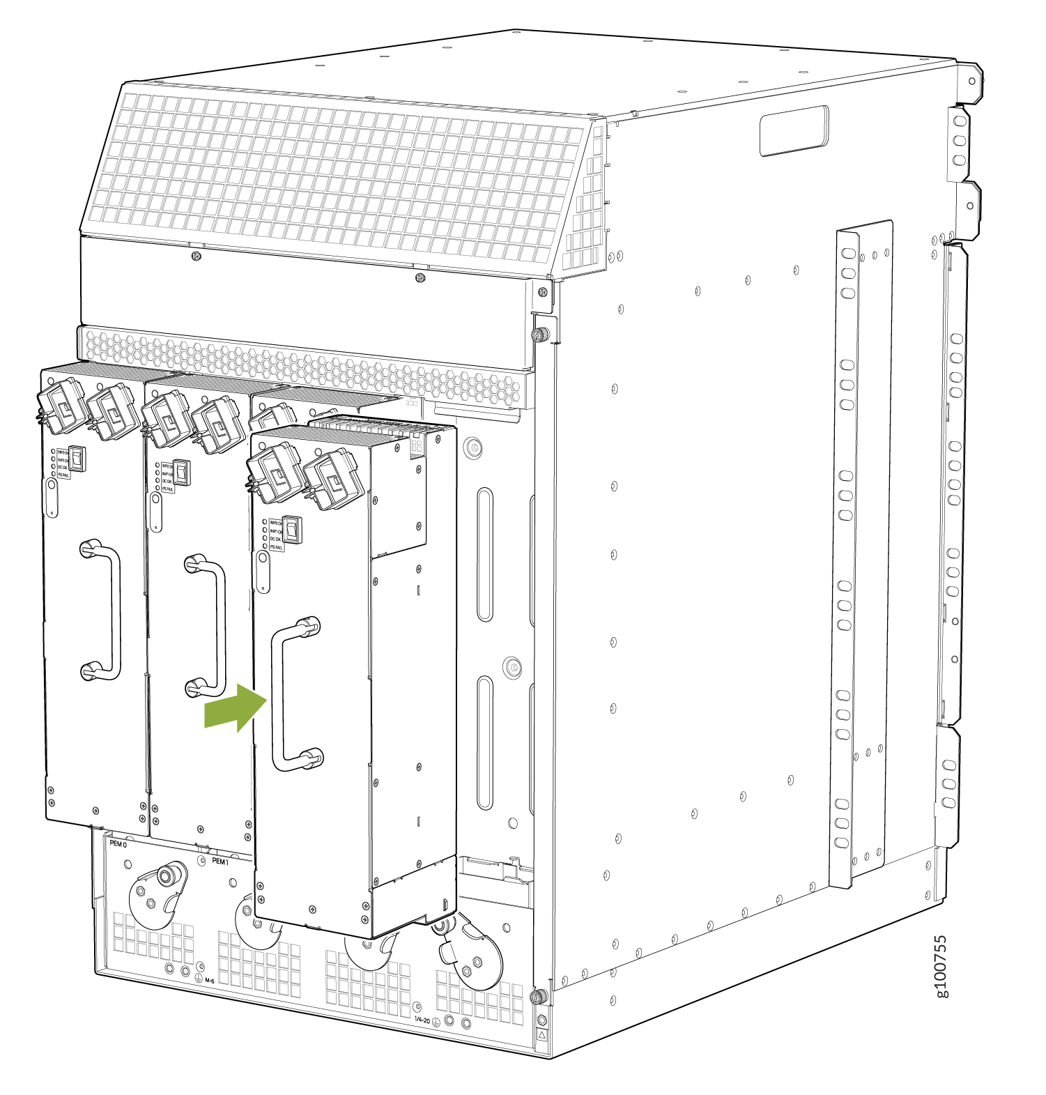 Installing a High-Capacity Second-Generation AC Power Supply