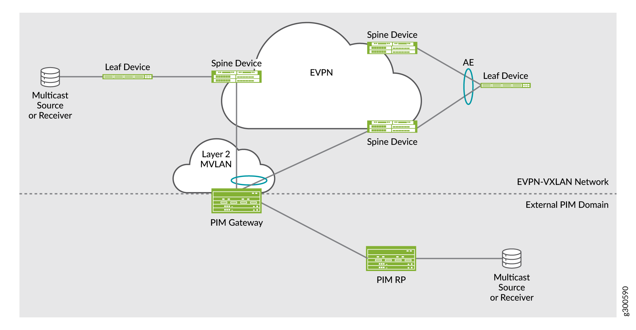 Use Case 3: PIM Gateway with Layer 2 Connectivity—Key Components