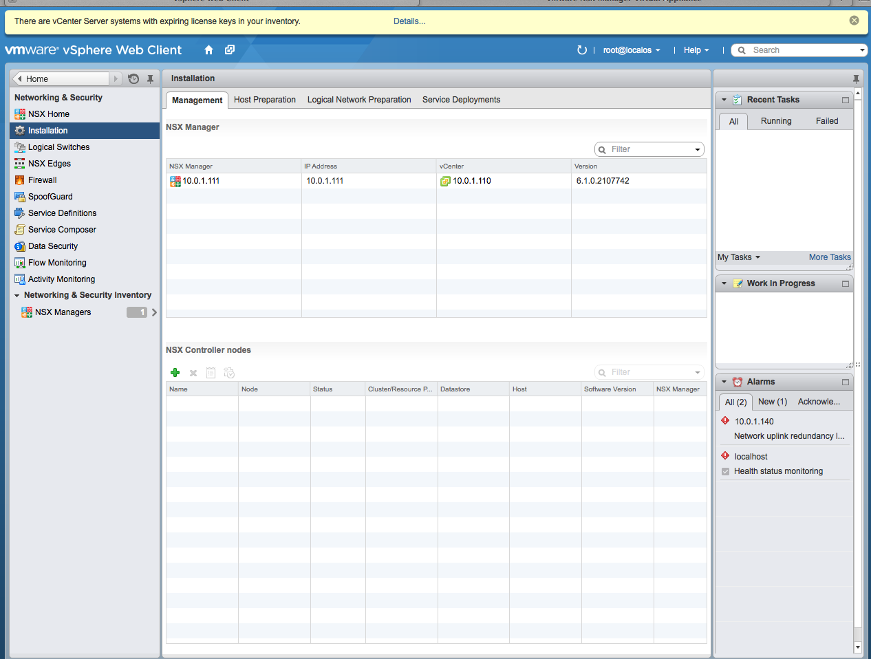 Example: Configuring Virtual Chassis Fabric and VMware NSX for