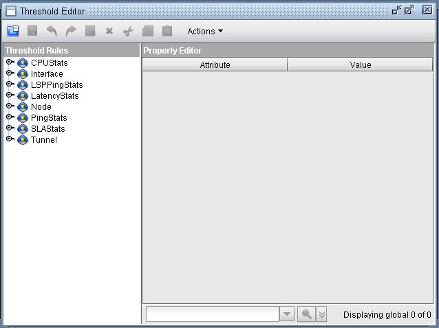 Threshold Editor