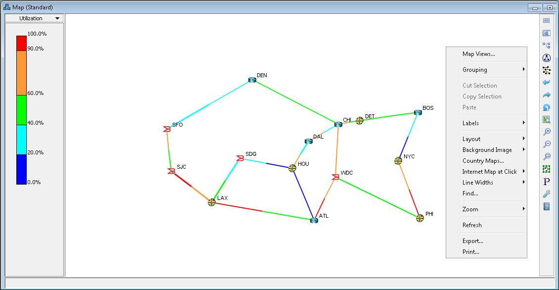 The Topology View Window