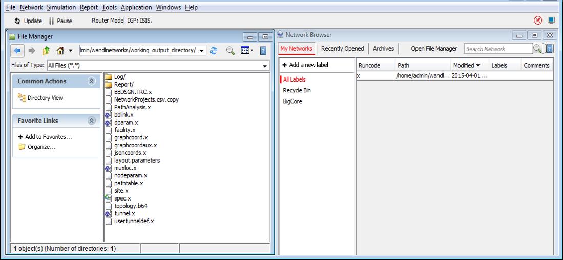 NorthStar Planner UI Overview - TechLibrary - Juniper Networks