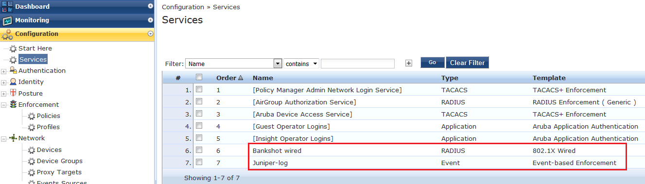 Example 3: Configuring Threat and Attack Detection and