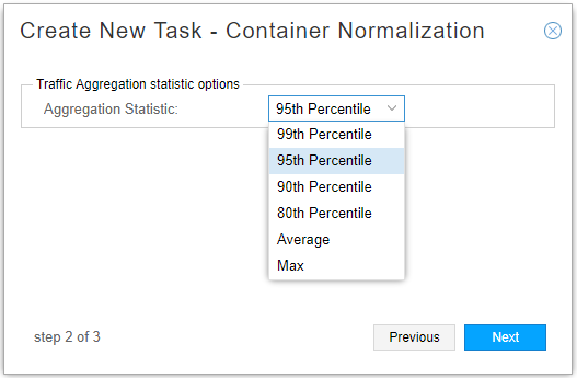 Container Normalization Task, Step 2
