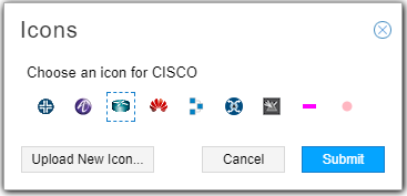 Icon Selection Window