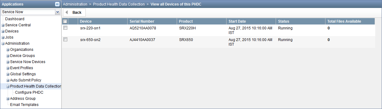 View All Devices of this PHDC Page