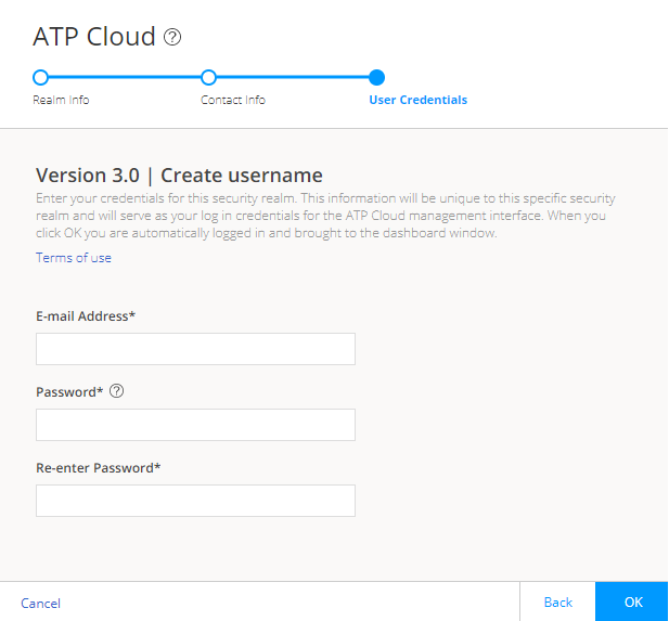 Creating Your Juniper ATP Cloud Credentials