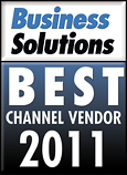 Business Solutions Magazine Top Channel Vendor 2011