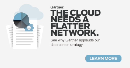 The Cloud Needs A Flatter Network