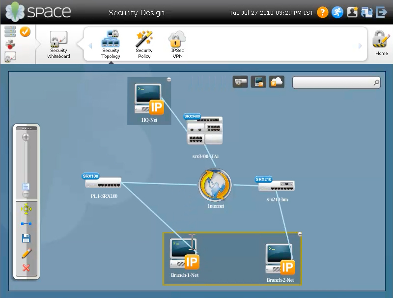 Junos Space Security Design Automated Network Security