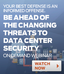 Data Center Security Webinar