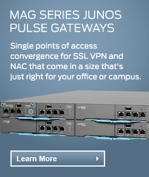 MAG Series Junos Pulse Gateways