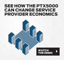 See how the PTX5000 can changes service provider economics.